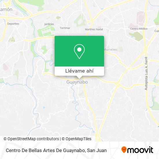 Mapa de Centro De Bellas Artes De Guaynabo