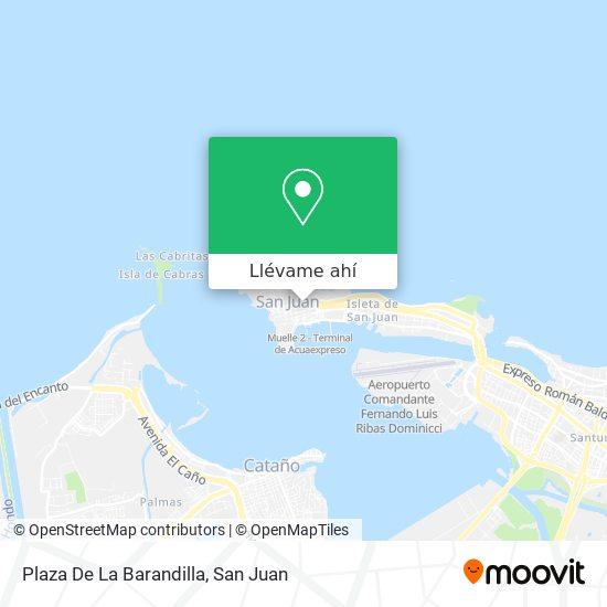 Mapa de Plaza De La Barandilla