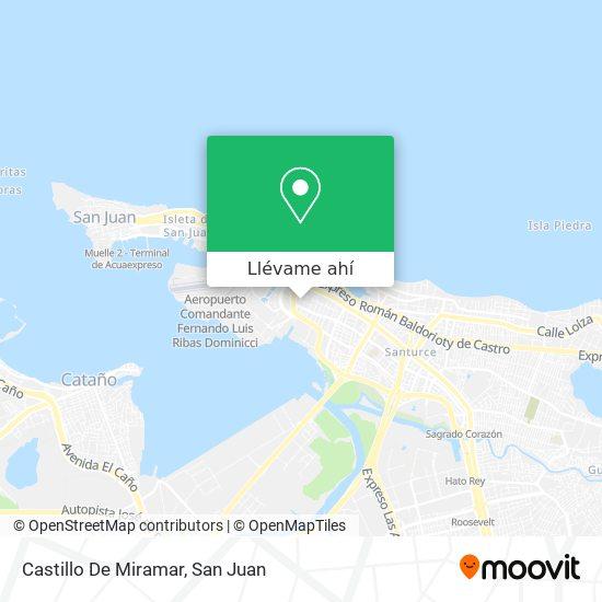 Mapa de Castillo De Miramar