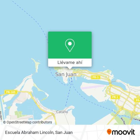 Mapa de Escuela Abraham Lincoln