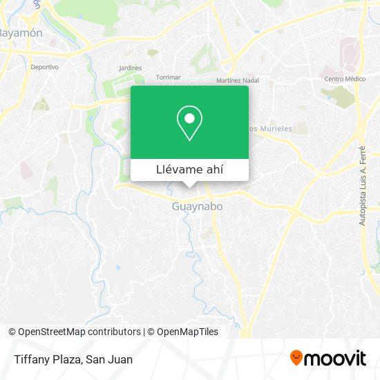 Mapa de Tiffany Plaza