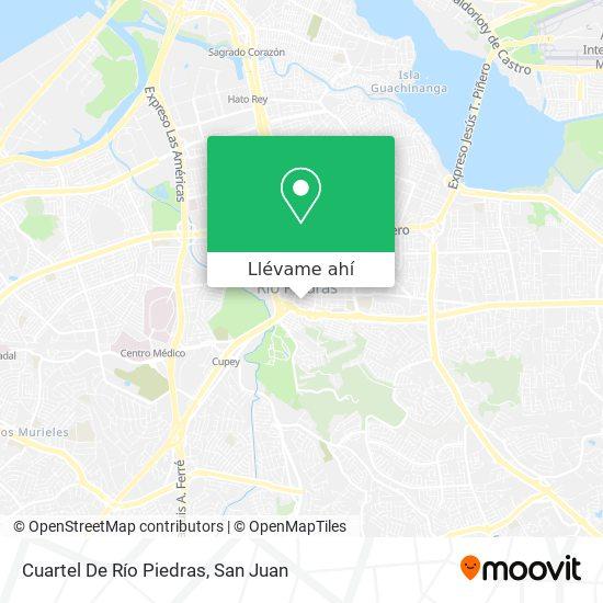 Mapa de Cuartel De Río Piedras