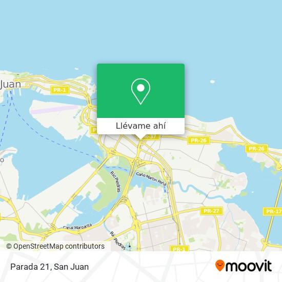 Mapa de Parada 21