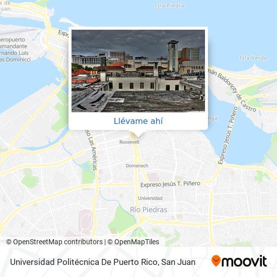 Mapa de Universidad Politécnica De Puerto Rico