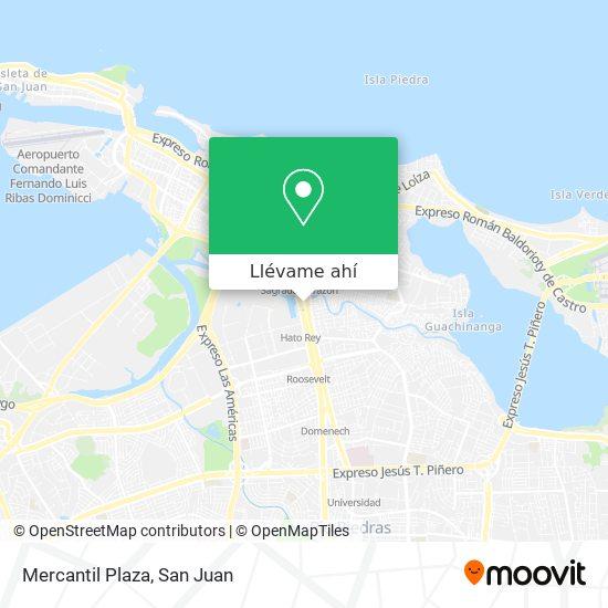 Mapa de Mercantil Plaza