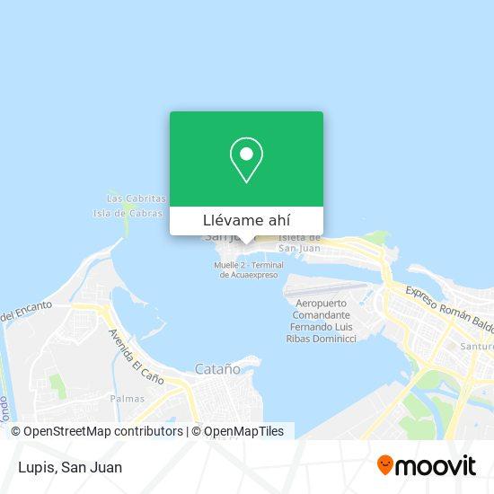 Mapa de Lupis