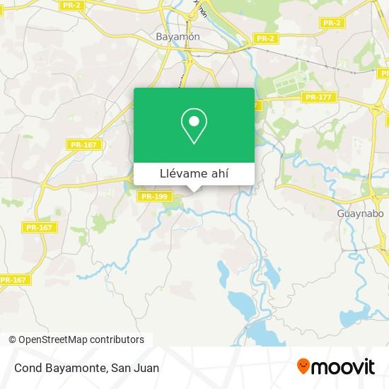 Mapa de Cond Bayamonte