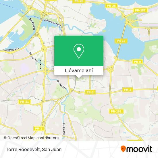 Mapa de Torre Roosevelt