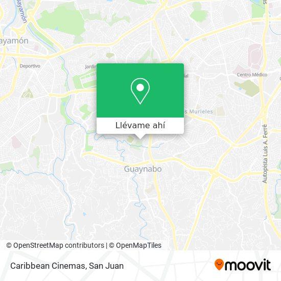 Mapa de Caribbean Cinemas Plaza Guaynabo
