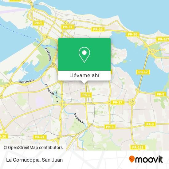 Mapa de La Cornucopia