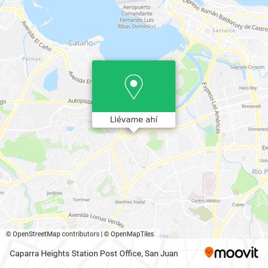 Mapa de Caparra Heights Station Post Office