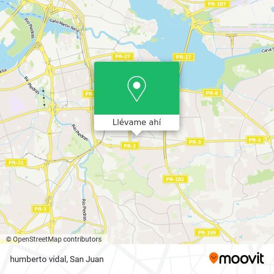 Mapa de humberto vidal
