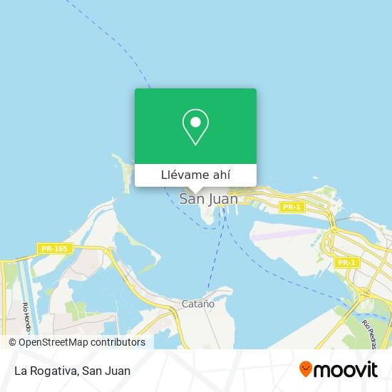 Mapa de La Rogativa