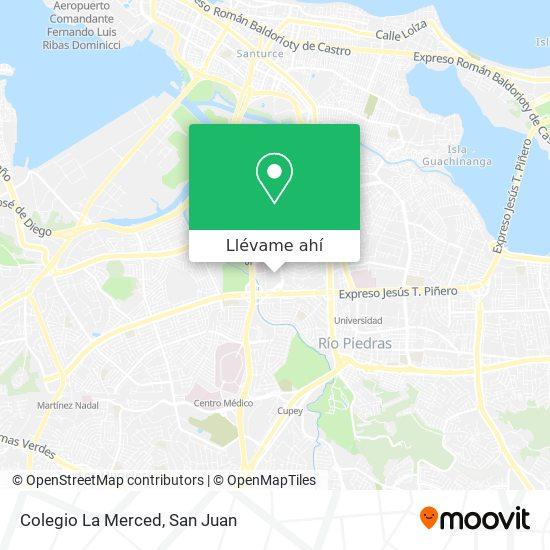 Mapa de Colegio La Merced