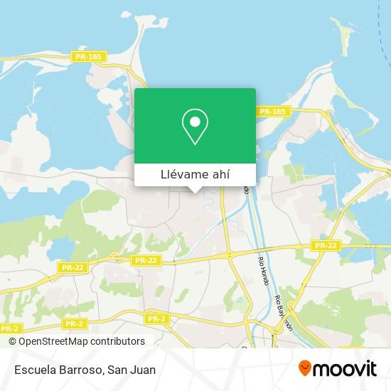 Mapa de Escuela Barroso