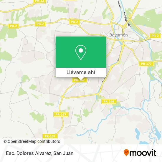 Mapa de Esc. Dolores Alvarez