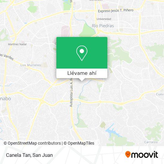 Mapa de Canela Tan