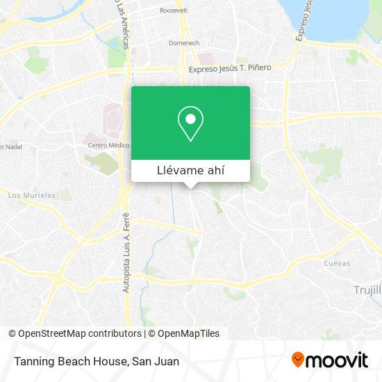 Mapa de Tanning Beach House