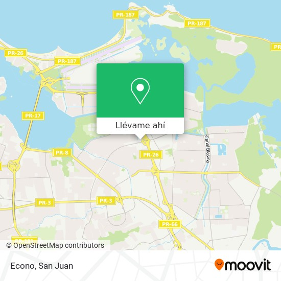 Mapa de Econo