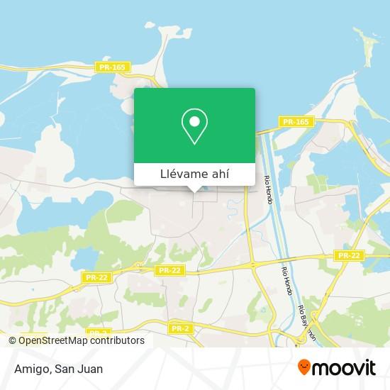 Mapa de Amigo