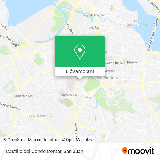 Mapa de Castillo del Conde Contar