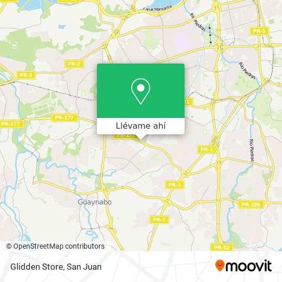 Mapa de Glidden Store