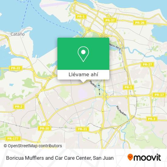 Mapa de Boricua Mufflers and Car Care Center