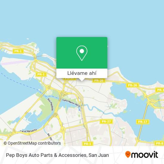 Mapa de Pep Boys Auto Parts & Accessories