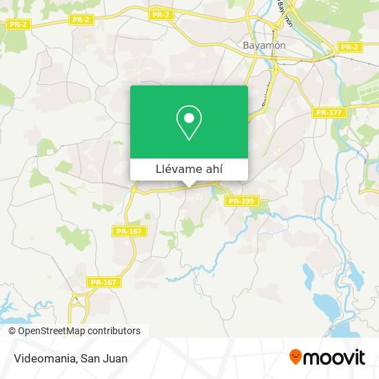 Mapa de Videomania