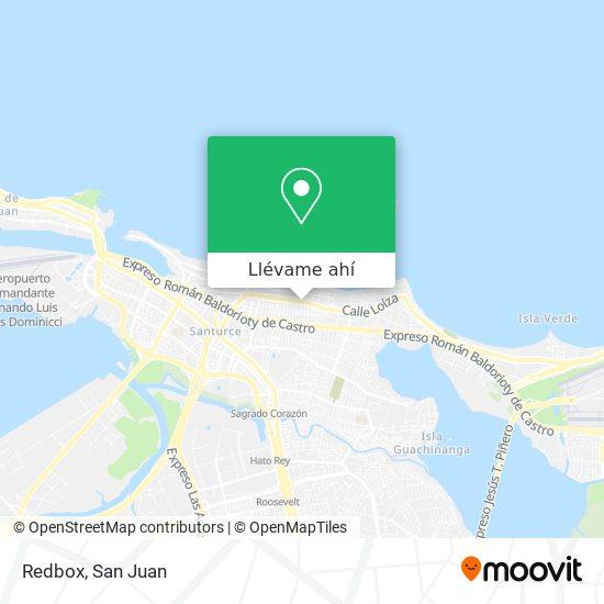 Mapa de Redbox