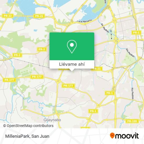 Mapa de MilleniaPark