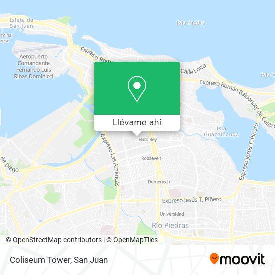 Mapa de Coliseum Tower