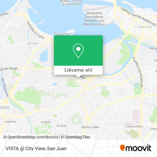Mapa de VISTA @ City View