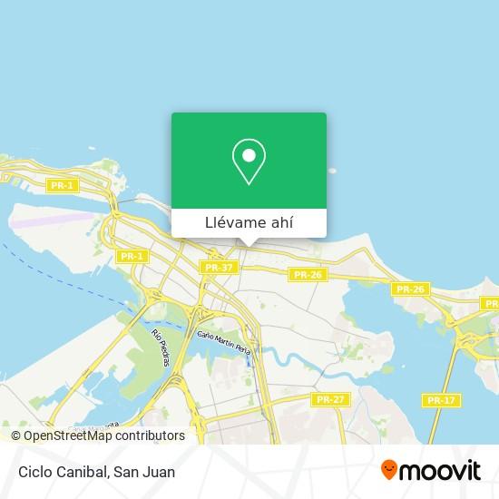 Mapa de Ciclo Canibal
