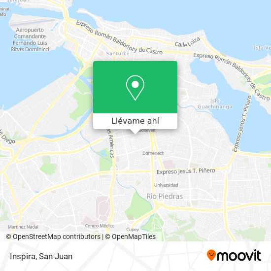 Mapa de Inspira
