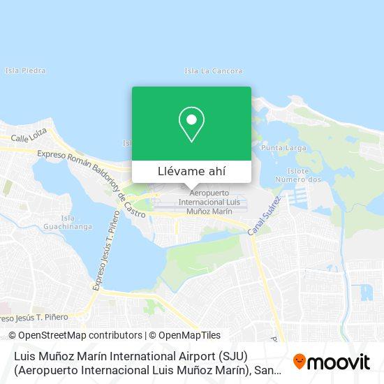 Mapa de Luis Muñoz Marín International Airport (SJU) (Aeropuerto Internacional Luis Muñoz Marín)