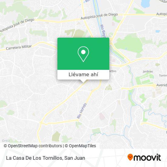 Mapa de La Casa De Los Tornillos