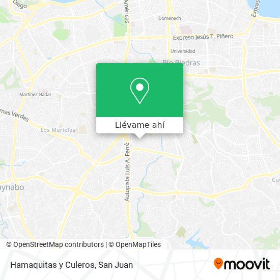 Mapa de Hamaquitas y Culeros