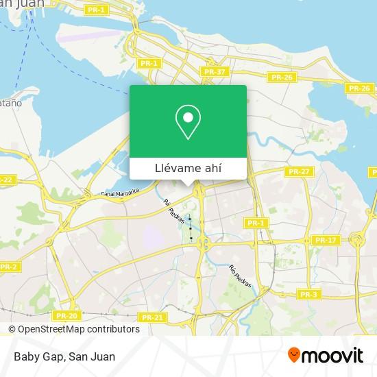 Mapa de Baby Gap