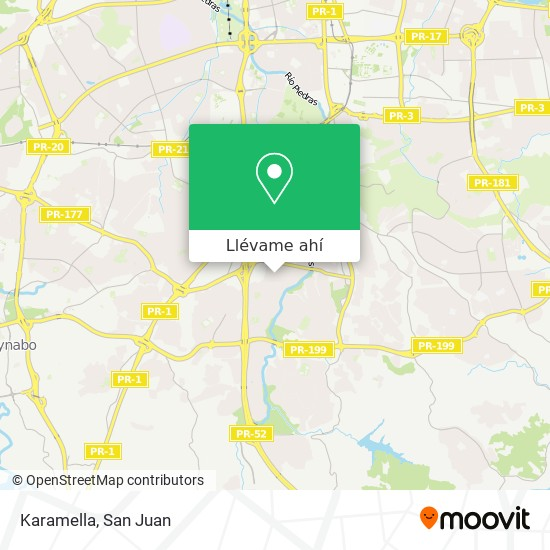 Mapa de Karamella