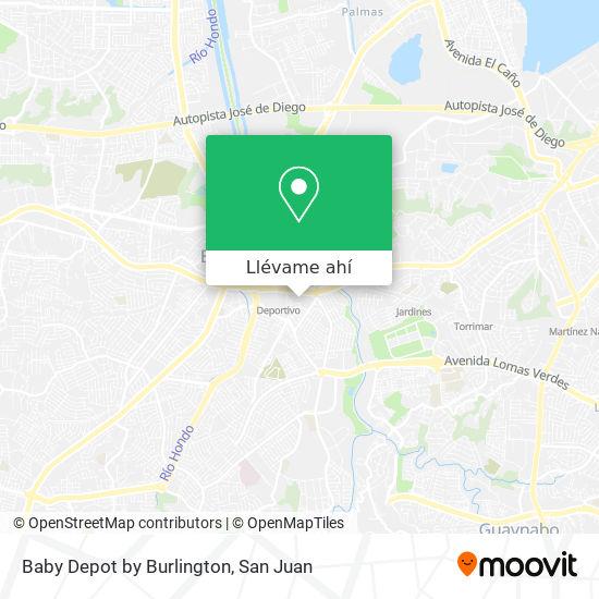Mapa de Baby Depot by Burlington