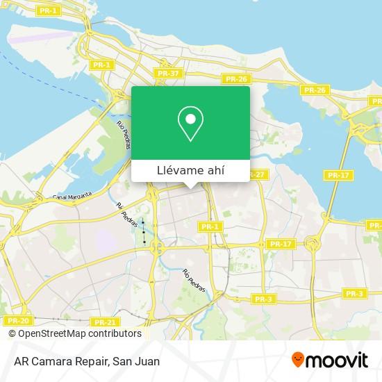 Mapa de AR Camara Repair