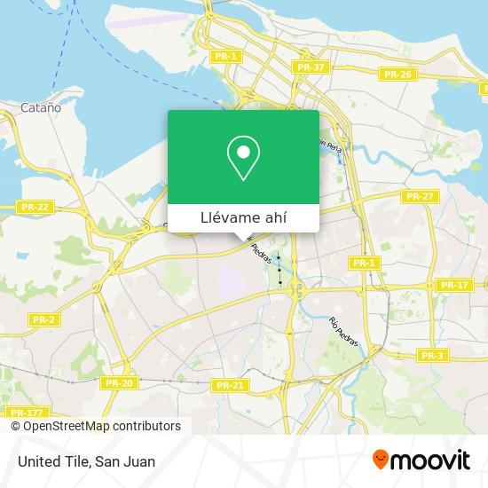 Mapa de United Tile