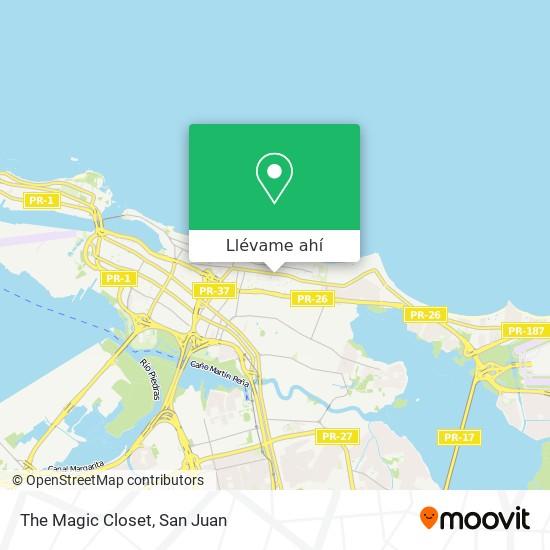 Mapa de The Magic Closet
