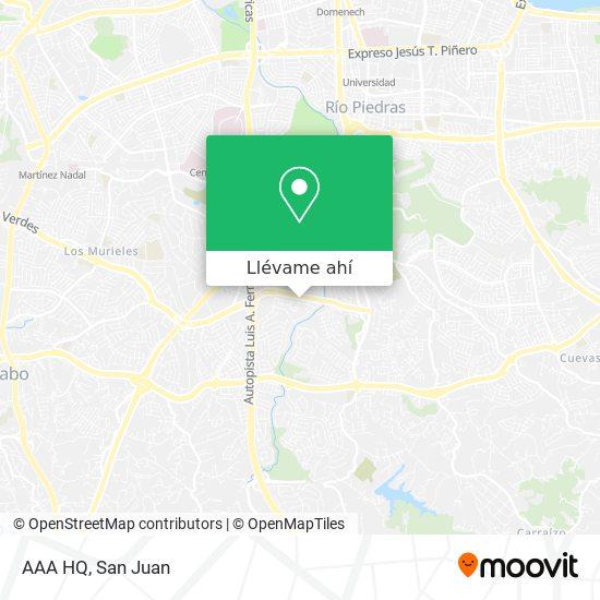 Mapa de AAA HQ