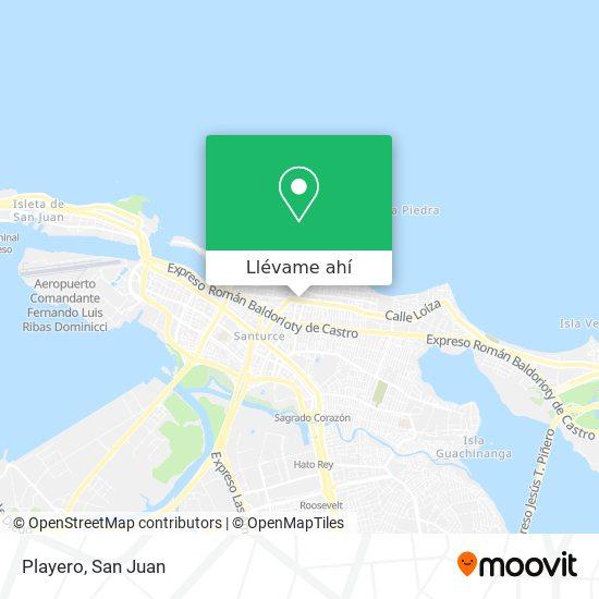 Mapa de Playero