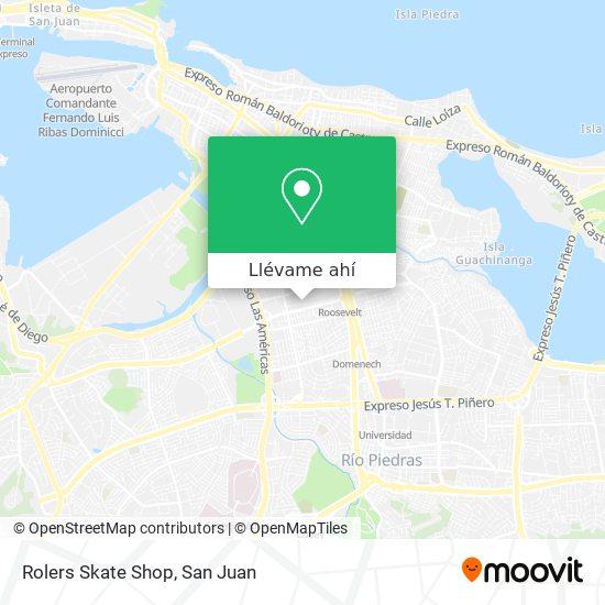 Mapa de Rolers Skate Shop
