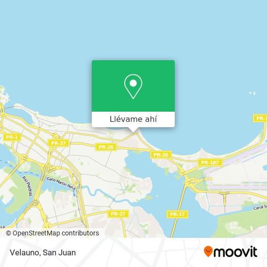Mapa de Velauno