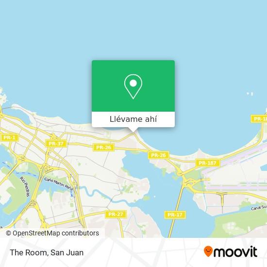 Mapa de The Room