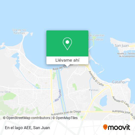 Mapa de En el lago AEE
